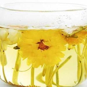 菊花和金银花泡茶晚上可以喝么?