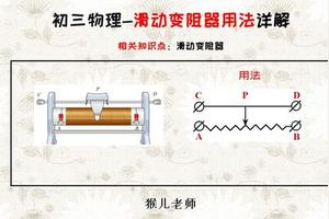 滑动变阻器构造的原理解释得清楚一些