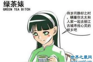 网上常用的绿茶裱具体什么意思?